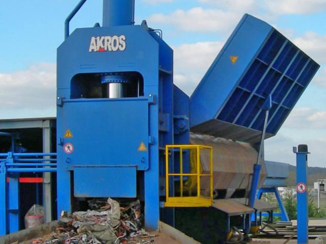 Presse cisaille Akros 630 tonnes